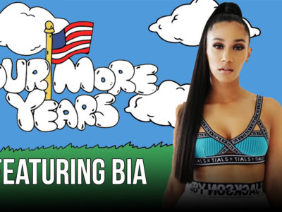 Bia Runs Against Hilary Clinton and Whips a Wraith | Four More Years